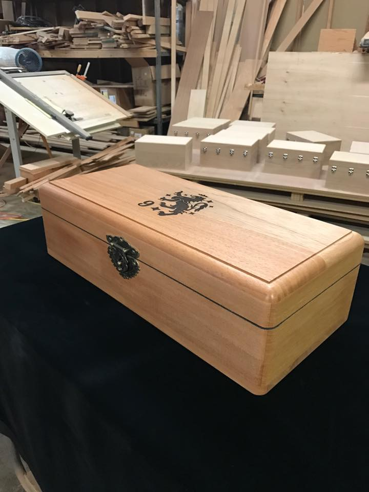 Large Personal Humidor with Custom Engraving
