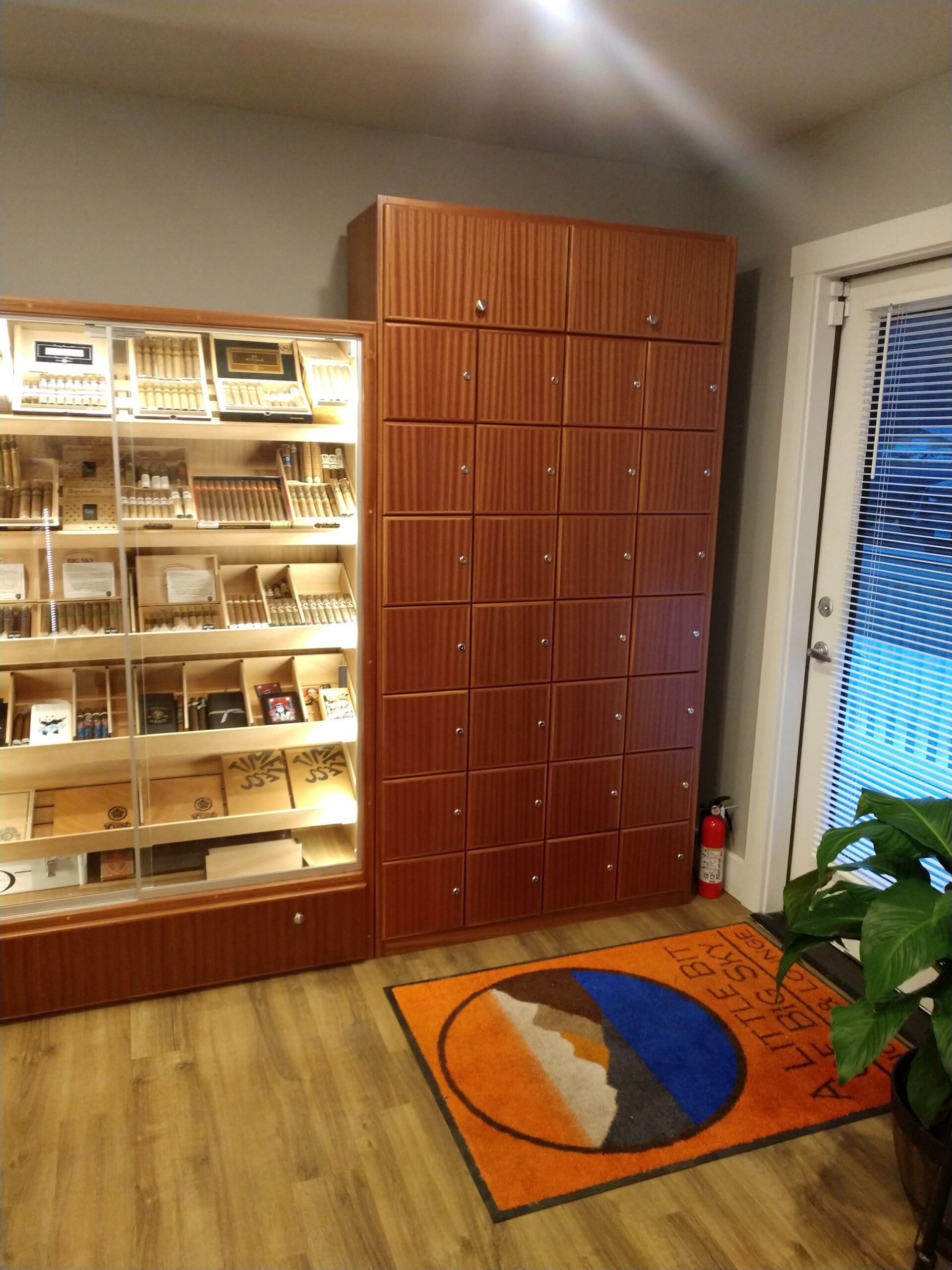 A Little Bit of Big Sky Cigar & Lounge – Kalispell, MT – Cigar Lockers
