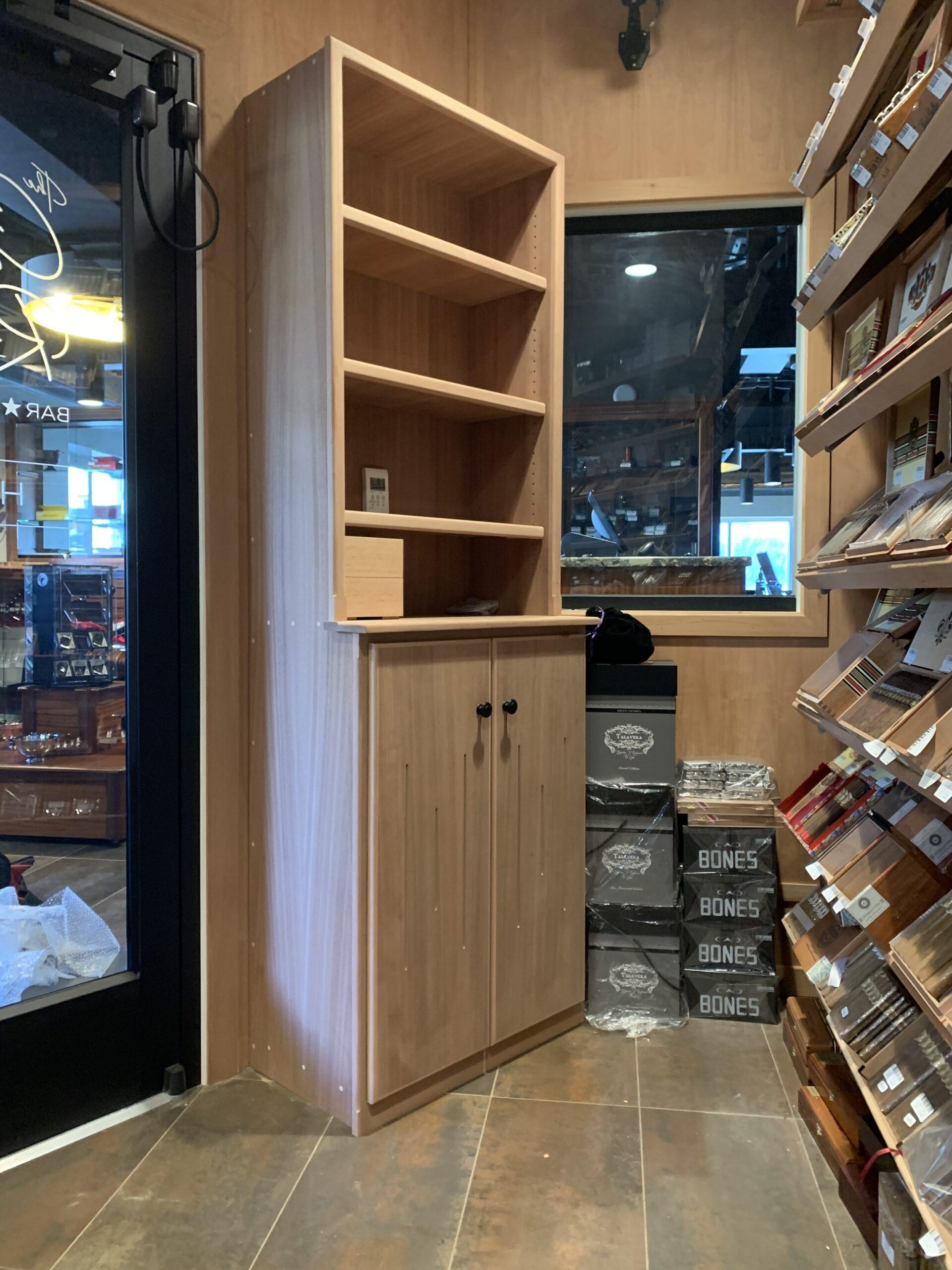 The Cigar Republic – Conshohocken – Cabinet Inside Walk In Humidor
