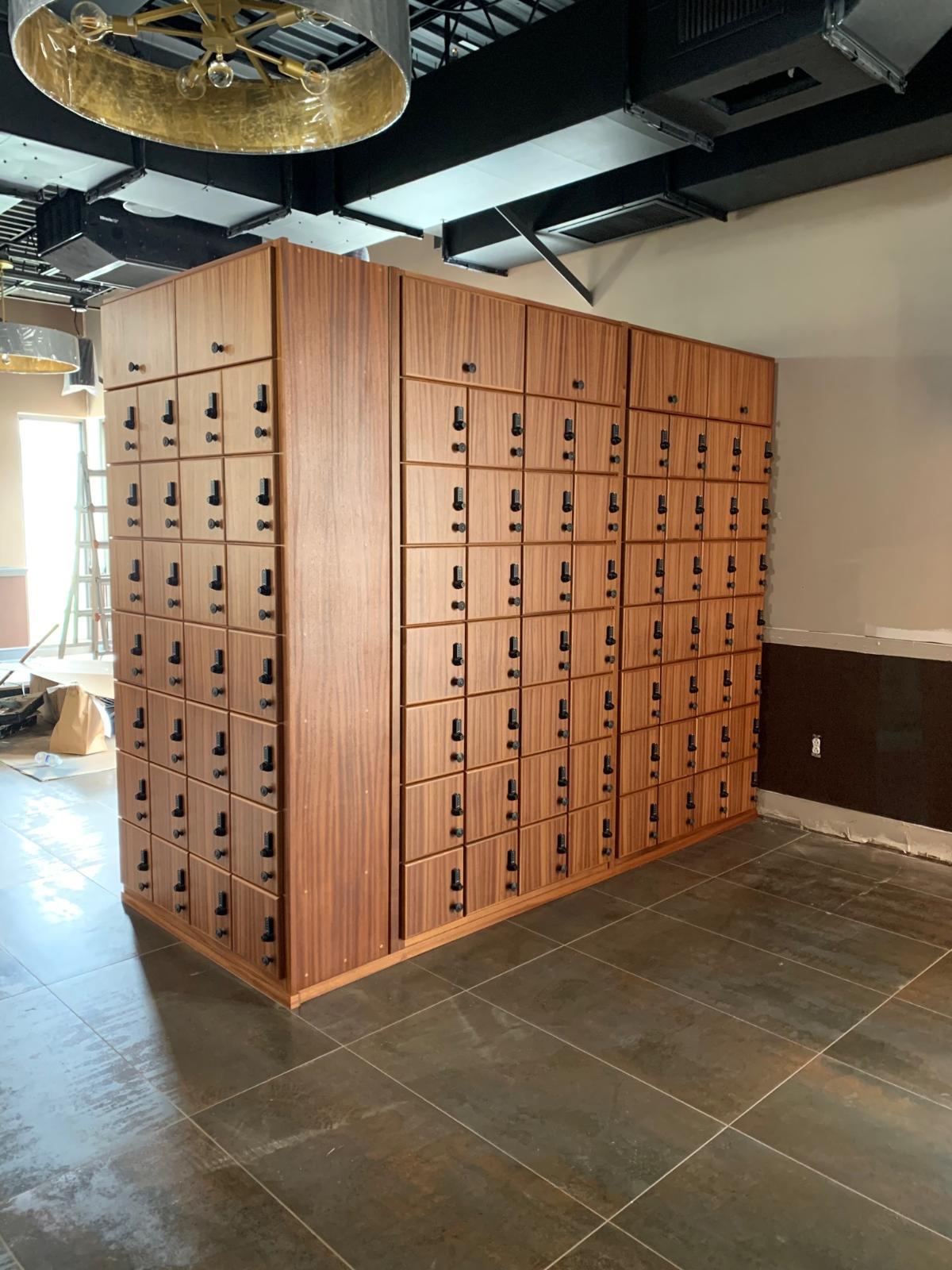 The Cigar Republic – Conshohocken – Cigar Lockers w/ Combination Locks