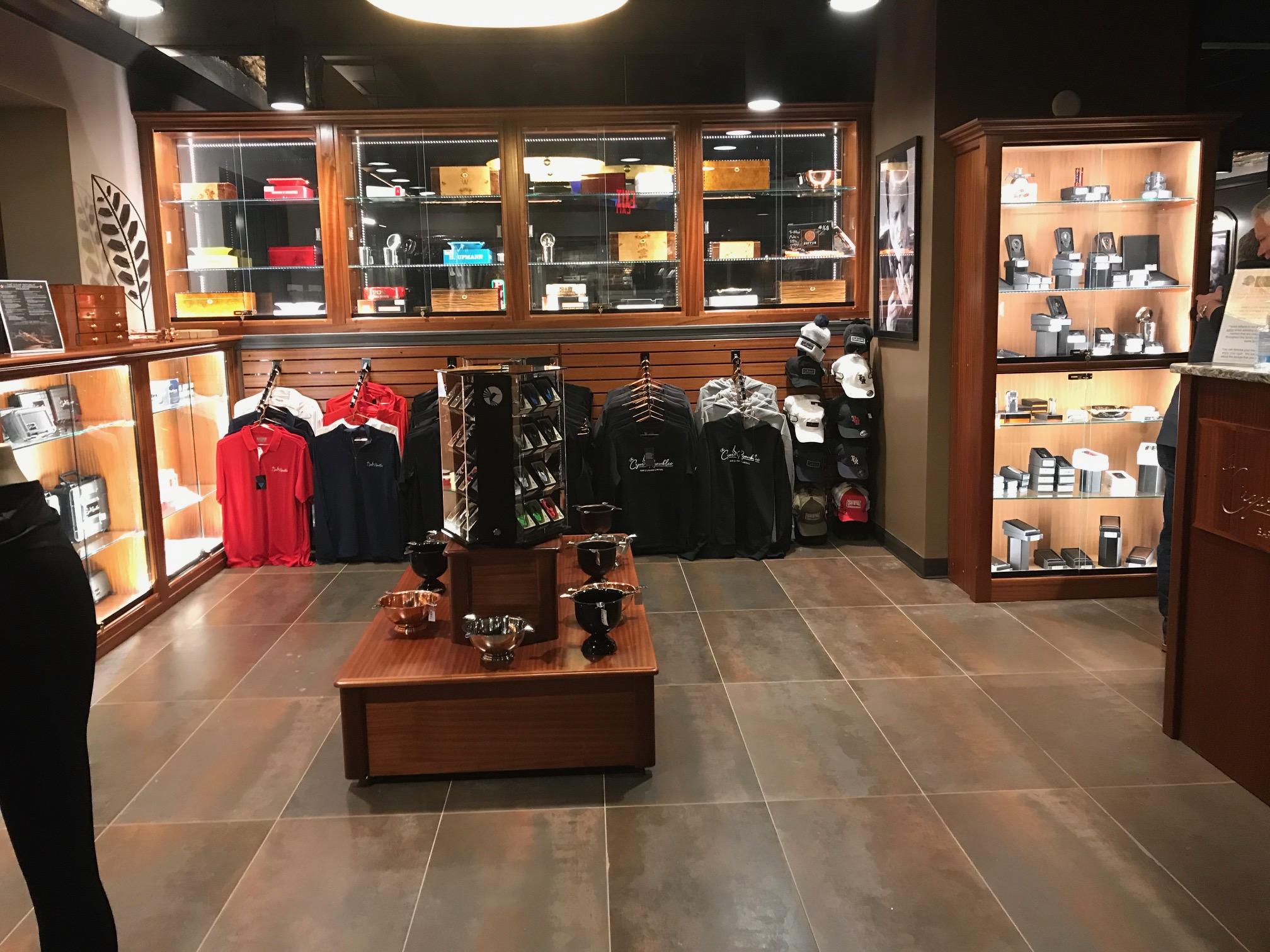 The Cigar Republic – Conshohocken Retail Area