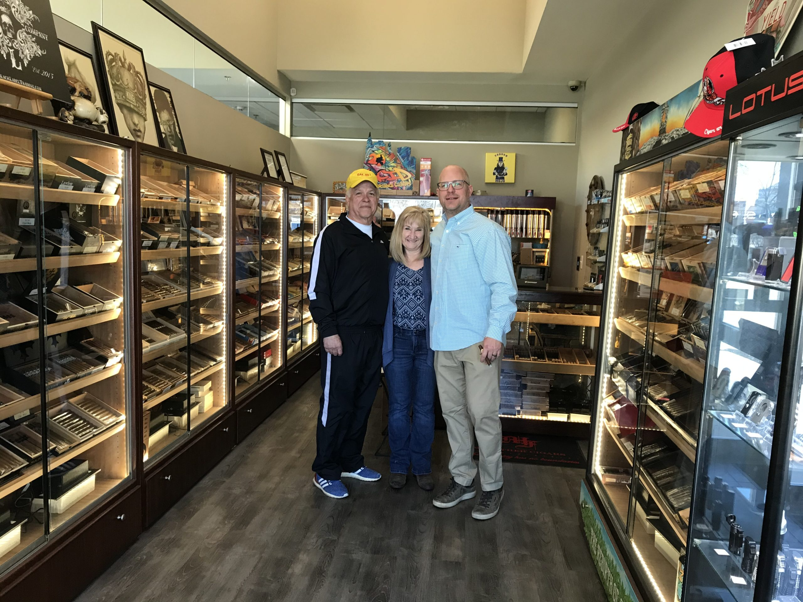 Cigar Mojo Retail Area – King of Prussia