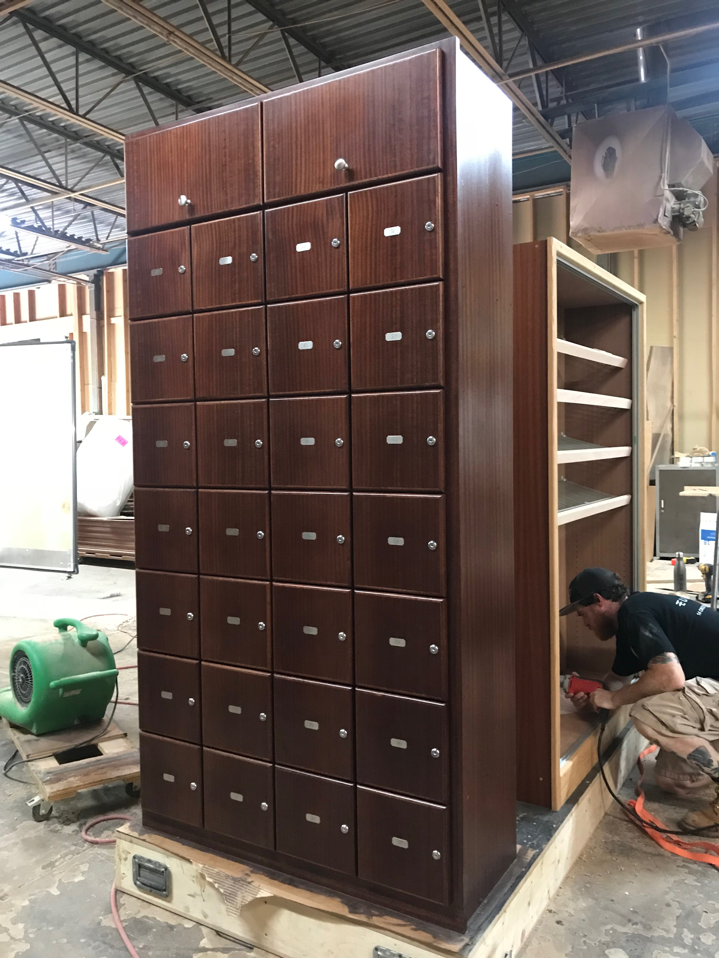 Embassy Cigar Lounge – Locker Module # 2