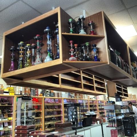 Custom Hookah Displays