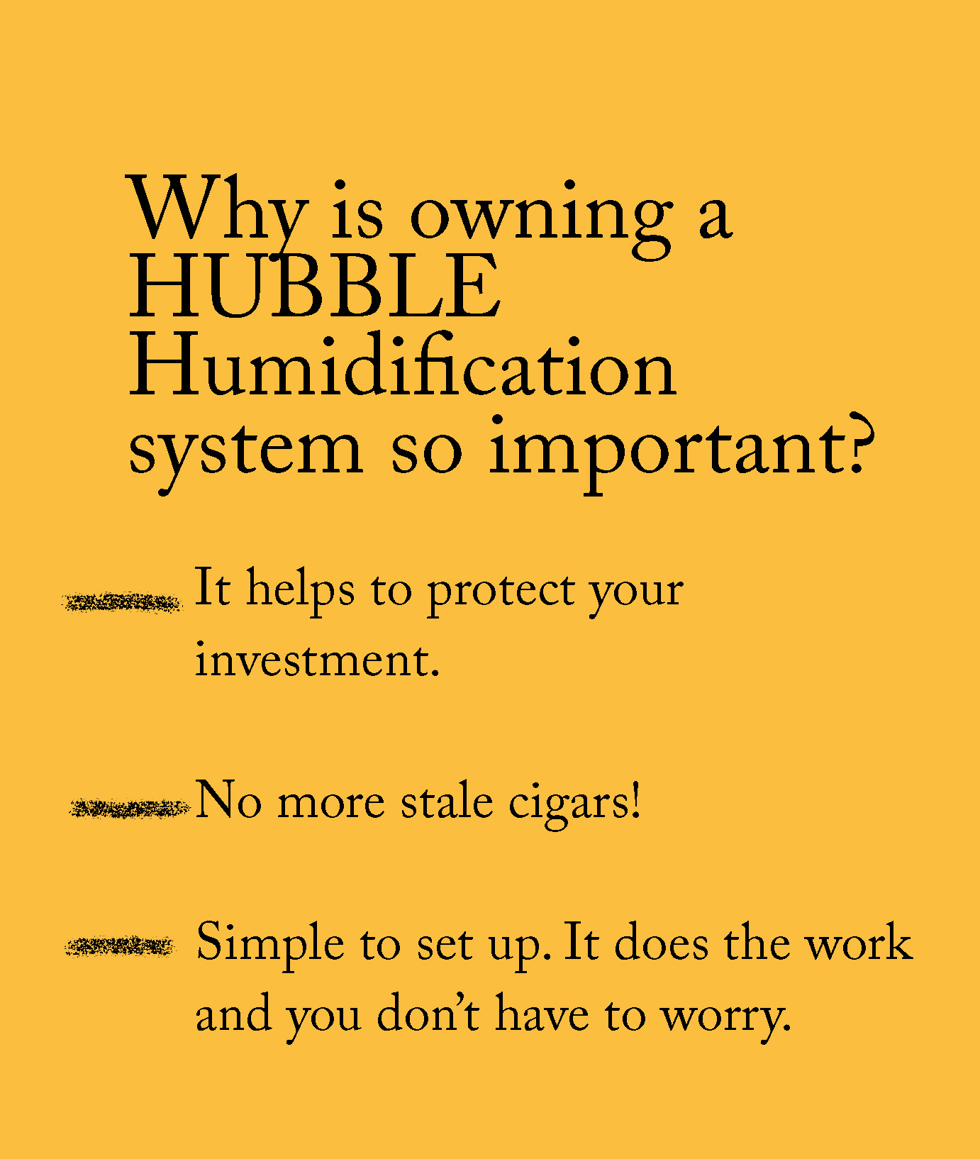 Why HUBBLE?