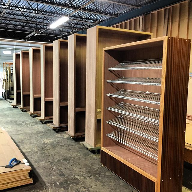 H-616 Humidors w/ Fixed Linen Racks in Production