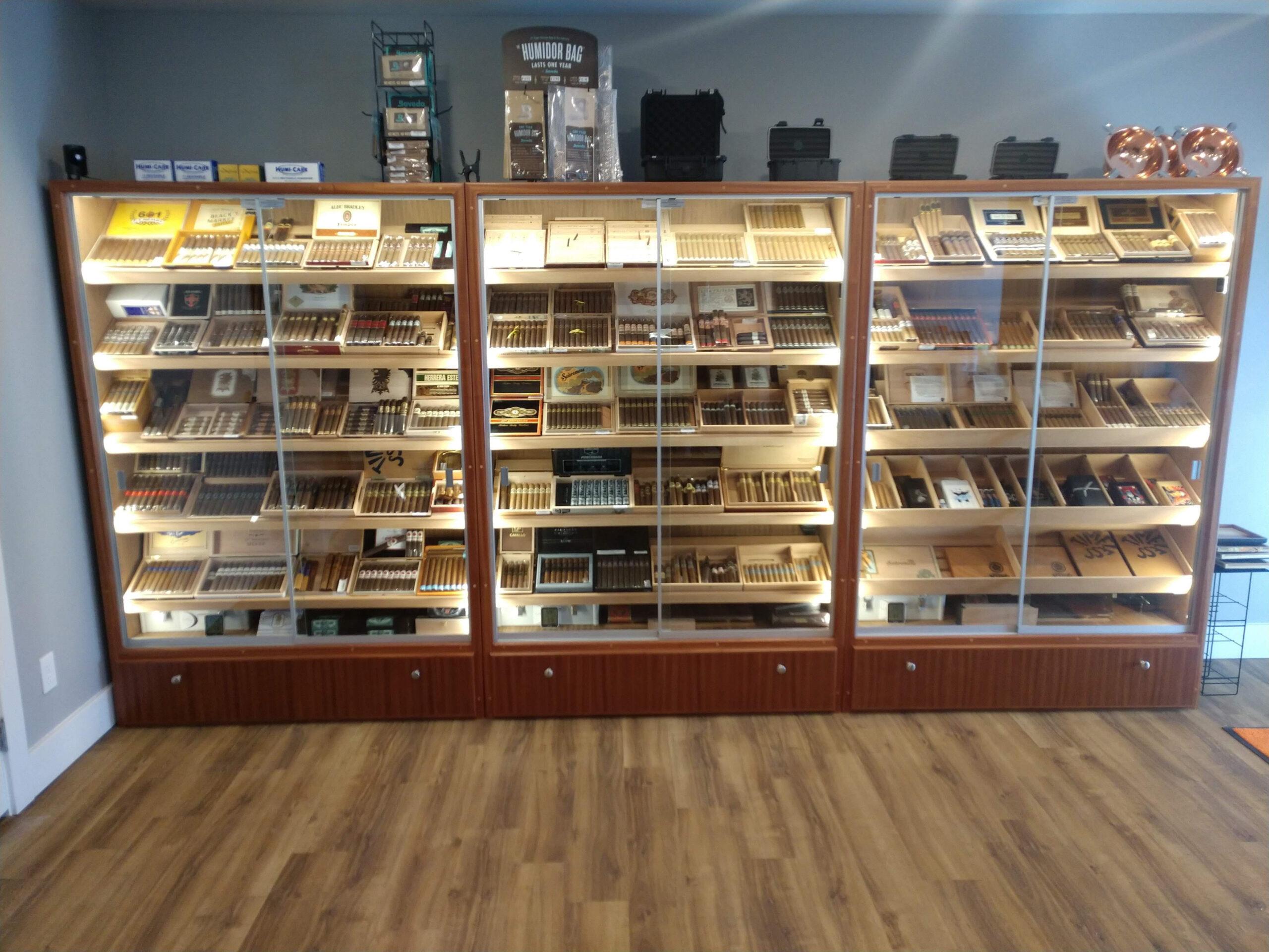 A Little Bit of Big Sky Cigar & Lounge – Kalispell, MT – H616 Humidors